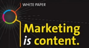 Marketing Is Content Cover