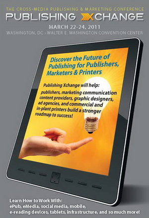 Cover of Brochure for Publishing Xchange