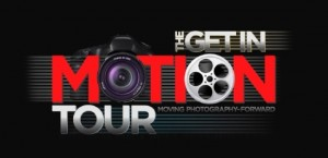 Get in Motion Tour Logo
