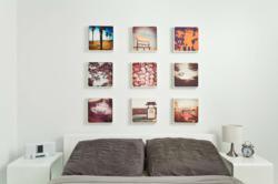 CanvasPop Multi-Image Layout of Instagram photo prints