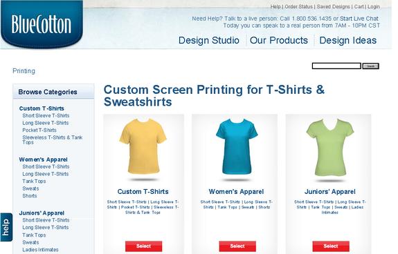BlueCottonTshirts