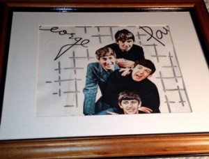 BeatlesWallpaper5-Framed