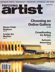 ProfessionalArtistMagCover