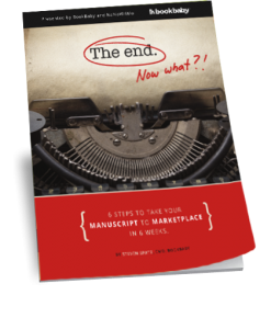 "Cover of Bookbaby guide ""The end"""