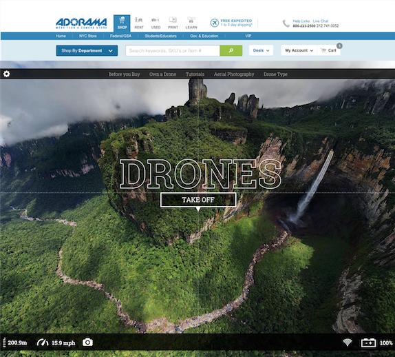 DronesTakeOff