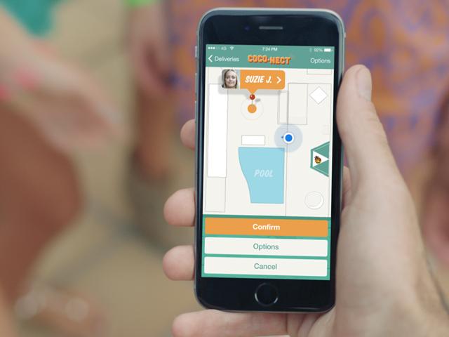 Malibu Coco-Nect app